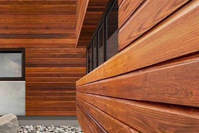 Особенности фасадной доски из лиственницы