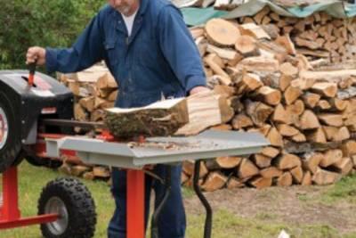Дровокол: выбор и изготовление самодельного, исходя из потребности в дровах и режима работы