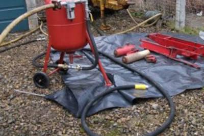Пескоструйный аппарат: безопасность и эксплуатация, компоненты, изготовление своими руками