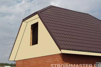 Как сделать фронтон крыши деревянного дома?