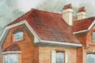 Строительство ломаной мансардной крыши
