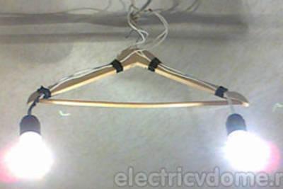 Как подключить потолочную люстру