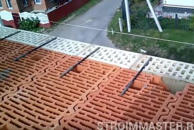 Керамический поризованный блок