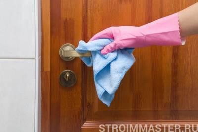Как правильно ухаживать за входными дверями из разных материалов