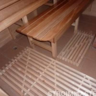 Как залить пол в бане, чтобы было тепло?