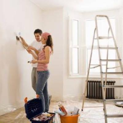 Красим гипсокартон: подготовительные работы, выбор и нанесение краски