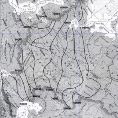 Индекс мороза на карте