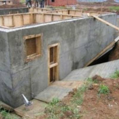 Дом из монолитного бетона