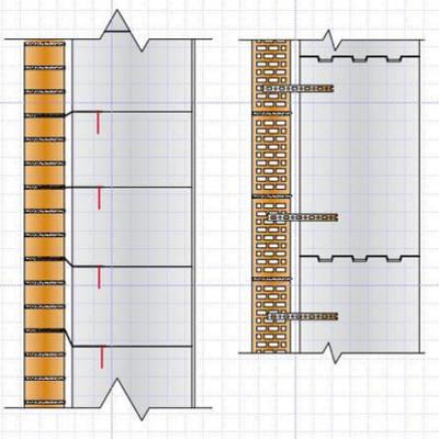 Наружная отделка стен дома из газобетонных, газосиликатных блоков