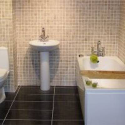 Плитка для ванной в качестве отделочного материала