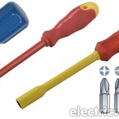 Профессиональный набор инструментов для электрика