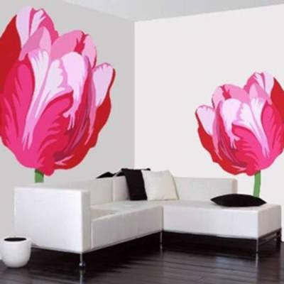 Декоративная роспись стен в интерьере: разбудите в себе художника
