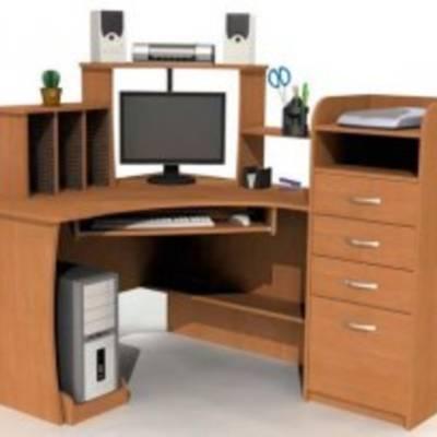 Угловые компьютерные столы - разумное использование пространства