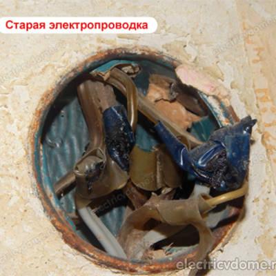 Замена электропроводки в частном доме из глины