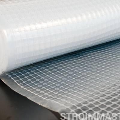 Полиэтиленовая пленка и фасадная сетка