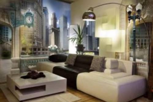 Урбанистические сюжеты в интерьерах жилых помещений