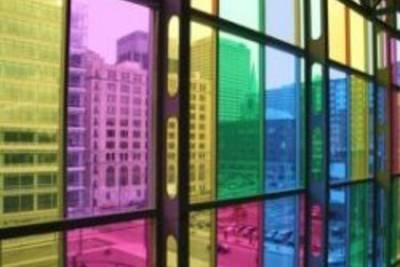 Преимущества тонировки стёкол зданий