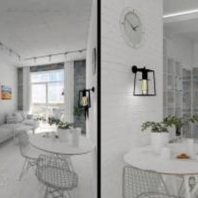 Дизайн спальні, ванної кімнати, кухні у скандинавському стилі від дизайнера інтер'єру Ірини Карликов
