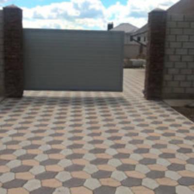 Применение тротуарной плитки