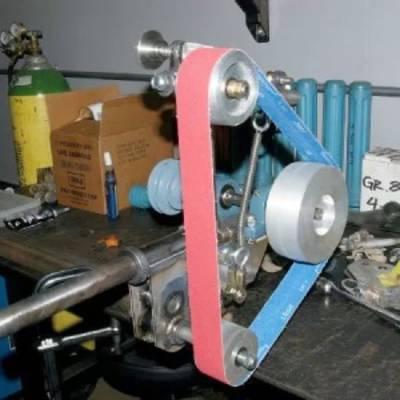 Гриндер (шлифовальный станок): ленточный и дисковый, схемы, изготовление, компоненты