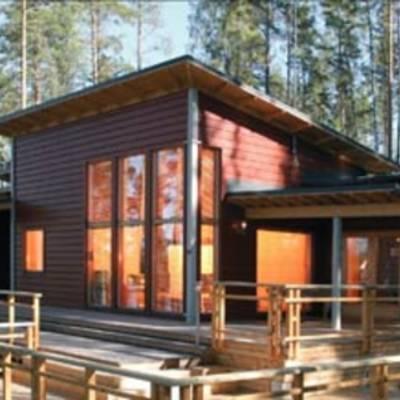 Сколько стоит строительство финского дома из клееного бруса?