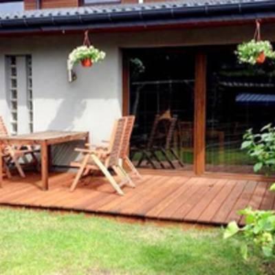 Строительство деревянной террасы. Материалы, инструменты, этапы. Фото.