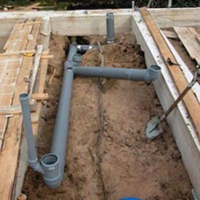 Виды систем канализации для дачи