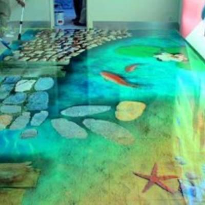 Как самостоятельно сконструировать наливной пол?