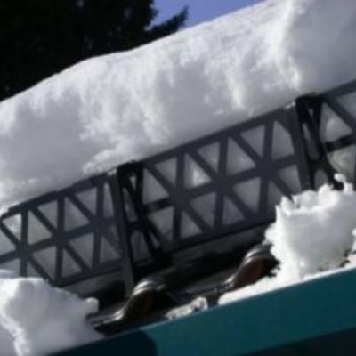 Обзор снегозадержателей для крыши