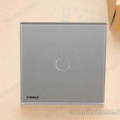 Сенсорный выключатель света 220 Вольт от Livolo